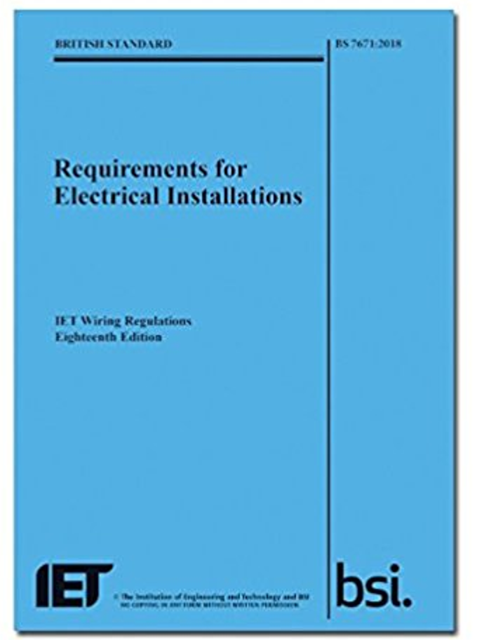 18th Edition Iet Wiring Regulations  Bs7671 18